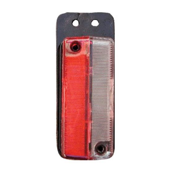 Markeringslamp-115-x-45mm-rood/wit