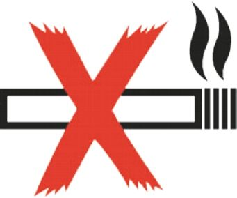 Niet-roken-80x70mm-sticker