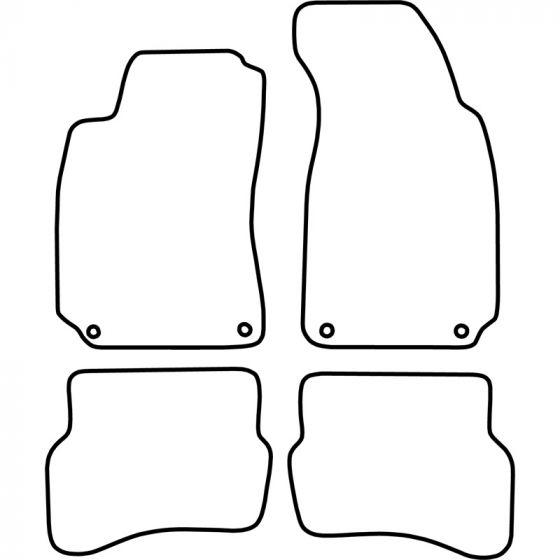 Automatten-Volkswagen-Passat-1996-2005