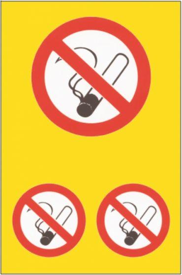Roken-verboden-stickerset