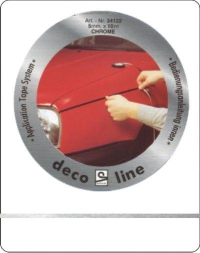Striping-chroom-3mm-sticker