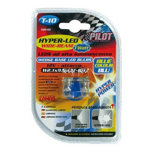 Verlichting-T10-lamp-1x-SMD-12V-blauw-WB-Hyper-LED