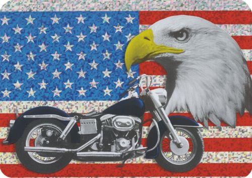 Usa-vlag-motor-hologram-sticker