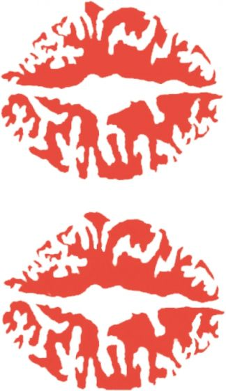 Kusmond-rood-sticker