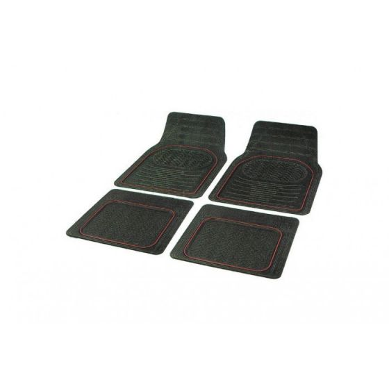 Mattenset-rubber-'contour'-universeel
