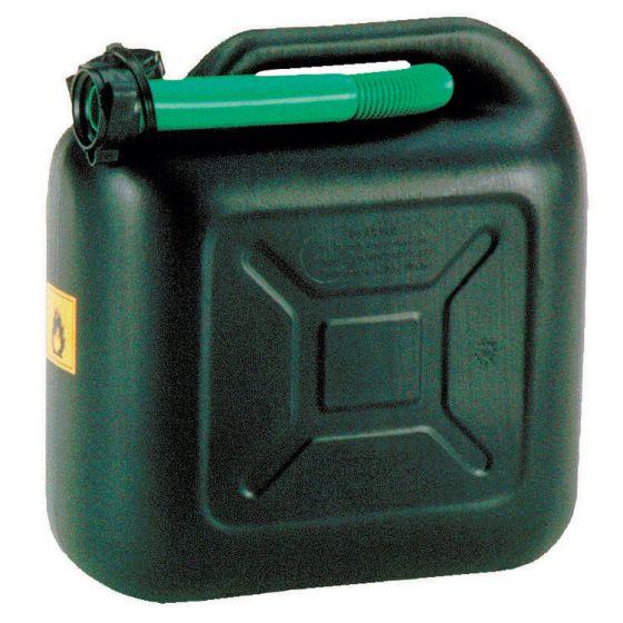 Jerrycan-10ltr-plastic-zwart