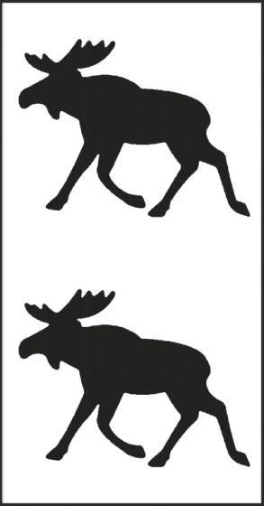 Eland-set-zwart-sticker