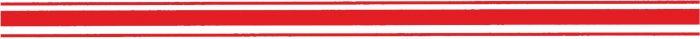 Striping-neon-rood-30mm-sticker