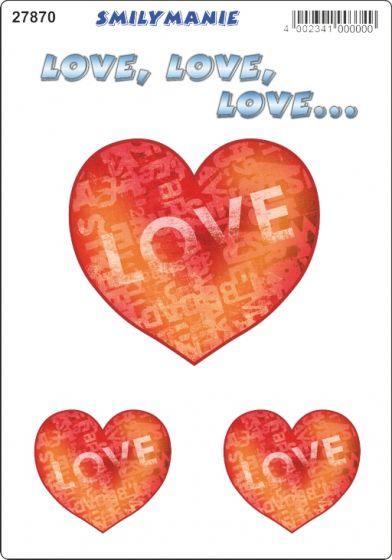 Smiley-love-sticker