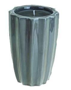 Kaars-grijs-11cm