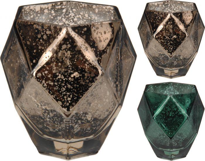 Theelichthouder-Metallic-10-cm