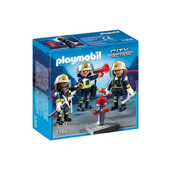 Playmobil-Trio-Brandweermannen---5366