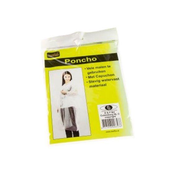 Poncho-Transparant