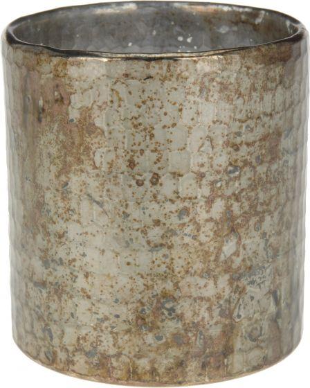 Theelichthouder-10x11-cm-grijs