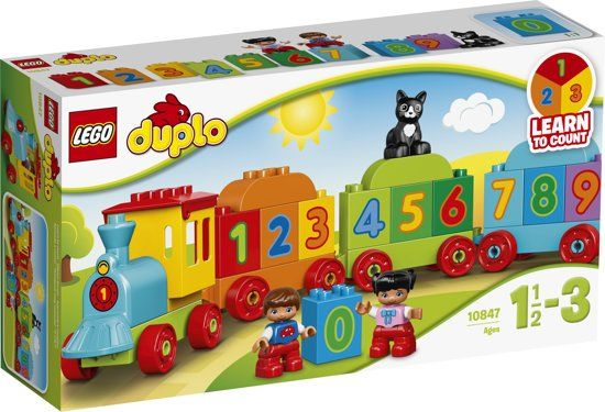 LEGO-DUPLO-Getallen-Trein---10558