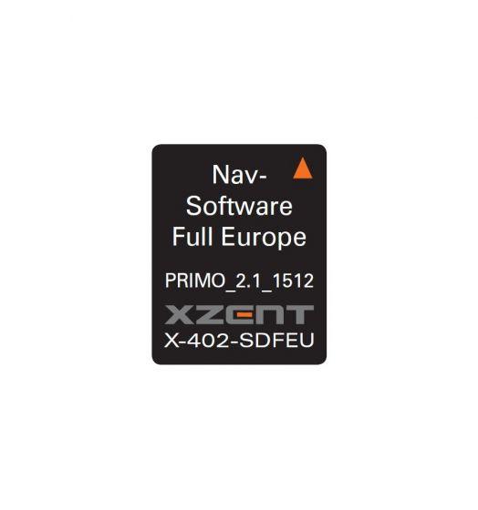 Xzent-X-402SD-FEU-Navigatiekaarten