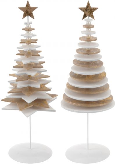 Kerstboom-Wit-27cm