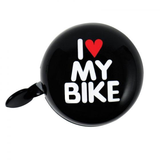 Fietsbel-dingdong-'I-love-my-bike'-Zwart-60mm
