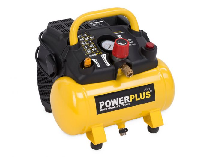 Powerplus-Compressor-1100W