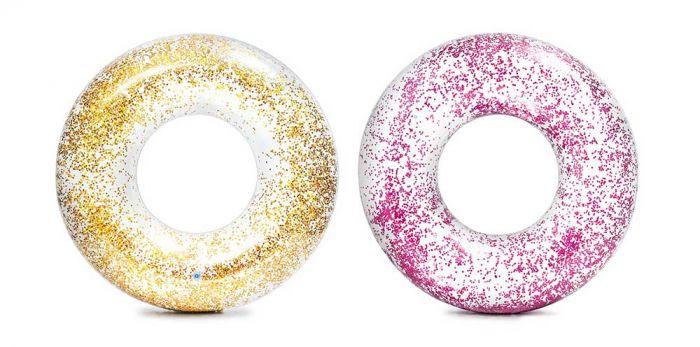 Intex-Zwemband-Transparant-Glitter
