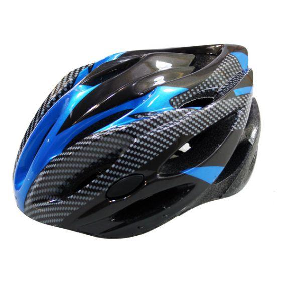 Fietshelm-allround-L-zwart/blauw