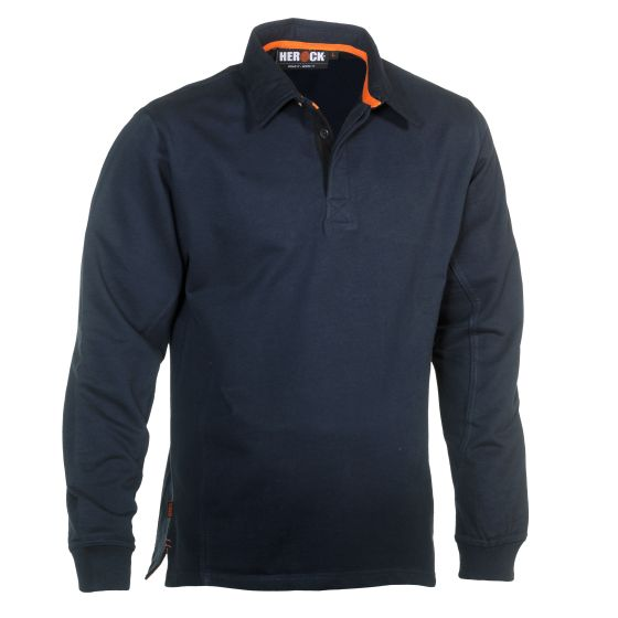 Herock-Troja-Polo-Long-Sleeves-Navy-XL