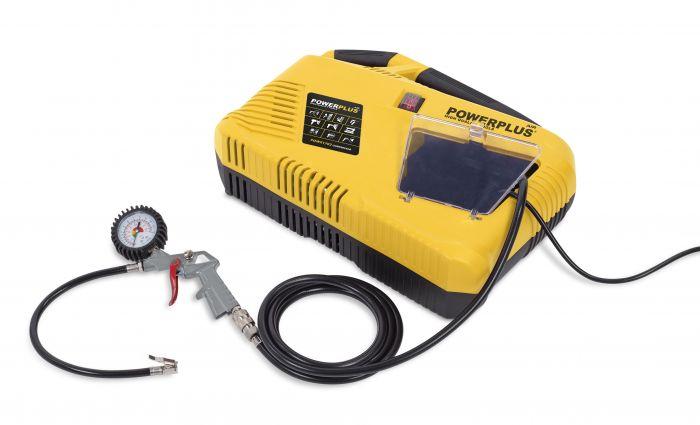 Powerplus-Aircompressor-1100W