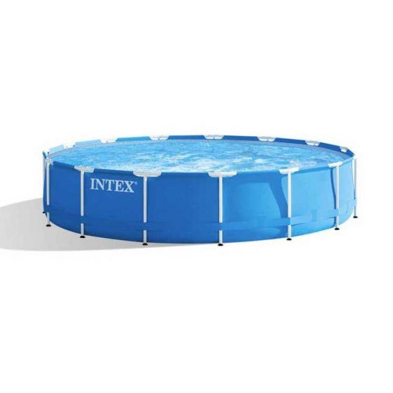 Intex-Metal-Frame-Pool-Ø-457-x-84-cm-(set)