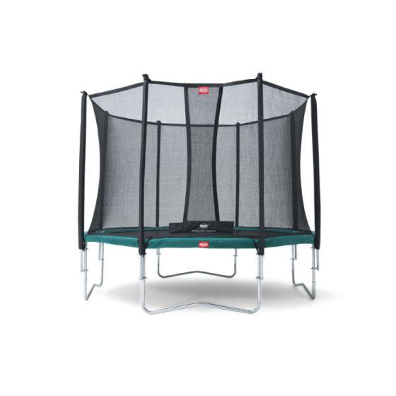 BERG-Favorit-430-+-Safety-Net-Trampoline-Comfort