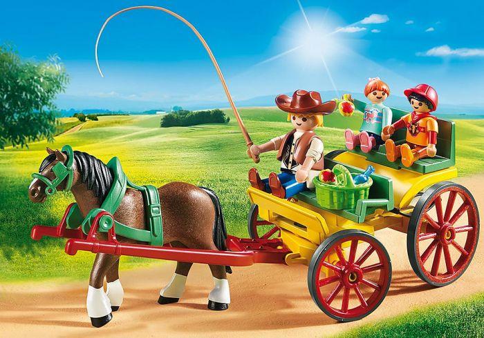 Playmobil-Paard-en-Kar-6932