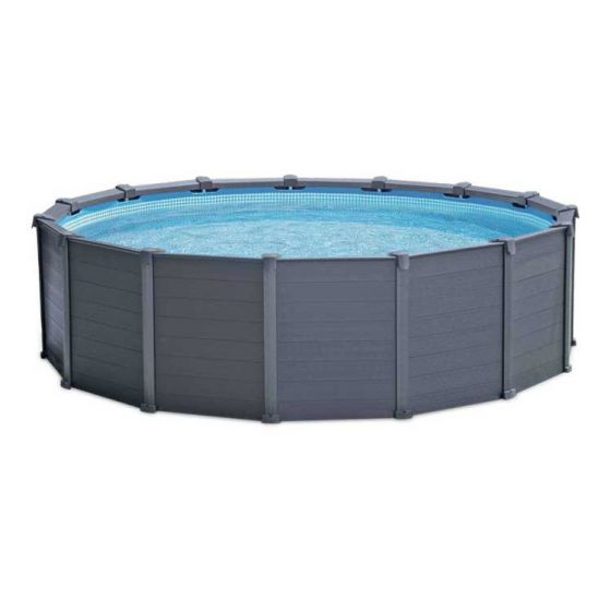 Intex-Graphite-Panel-Pool-Ø-478-cm-(set)