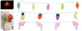 Feestverlichting-Flamingo/ijs/fruit