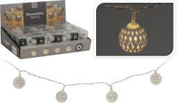 LED-verlichting-met-metalen-decoratie