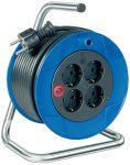 Brennenstuhl-Kompakt-Kabelhaspel-Zwart-15M