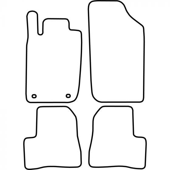 Automatten-Peugeot-206-1998-2007