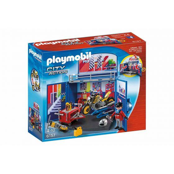 Playmobil-Speelbox-Motorwerkplaats---6157