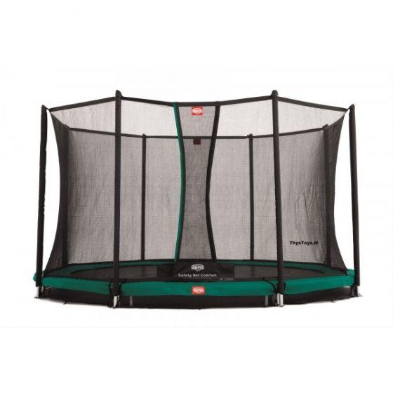 Trampoline-BERG-Favorit-Inground-430-+-Safety-Net-Comfort