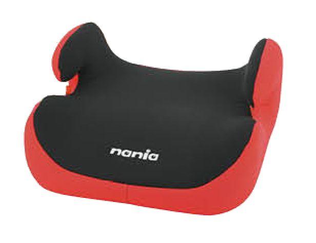 Zitverhoger-Nania-Topo-Comfort-Zwart/Rood-2/3