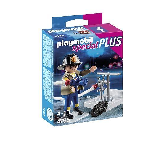 Playmobil-Brandweerman-met-brandkraan---4795