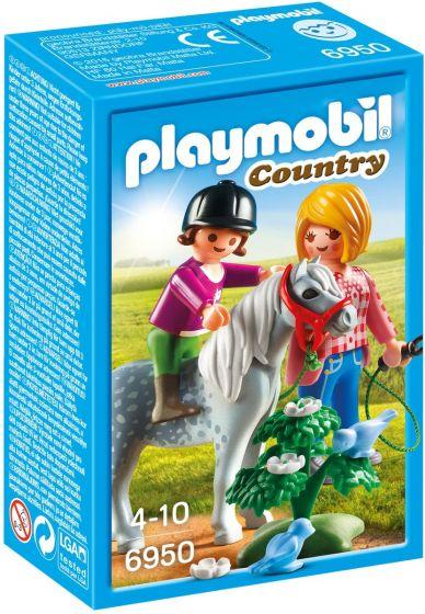 Playmobil-Ponyrijden-met-mama---6950