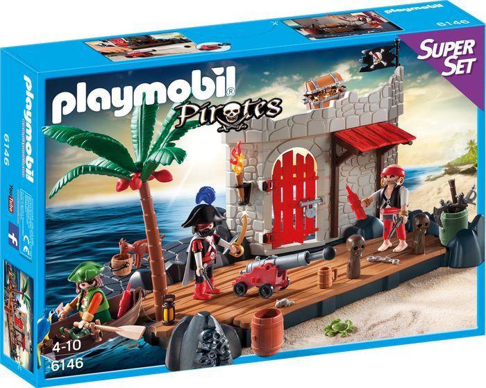 Playmobil-SuperSet-Piratenfort---6146