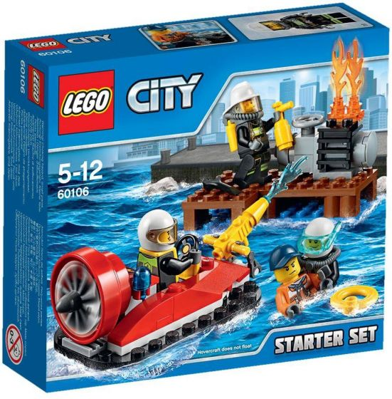 LEGO-City-Brandweer-Starter-Set---60106