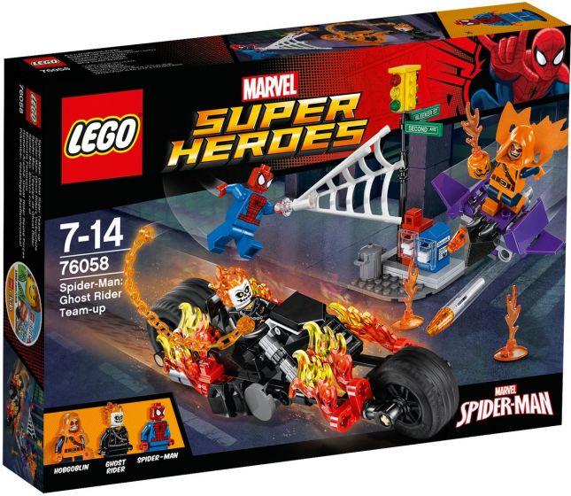 LEGO-Super-Heroes-Spider-Man-Ghost-Rider-Samenwerking---76058