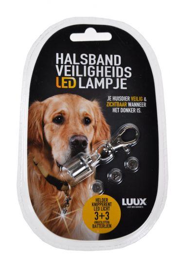Veiligheidslampje-halsband-LED