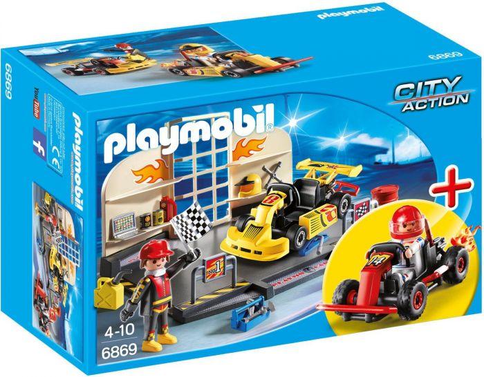 Playmobil-StarterSet-Karting-garage---6869