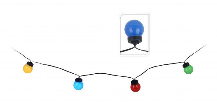 Feestverlichting-10-lampen-gekleurd