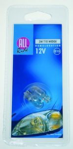 Lamp-3W12V-T10-Wedge