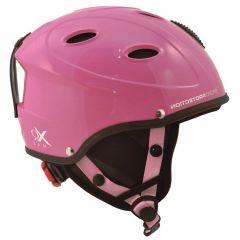 Skihelm-kinderen-roze-XS