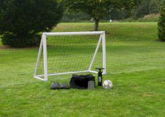 Voetbal-Goal-opblaasbaar