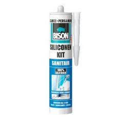 Bison-Siliconenkit-Sanitair-wit-310ml